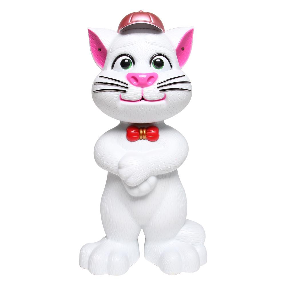 Đồ chơi chú mèo đội mũ cảm ứng kể chuyện màu trắng LT268-499