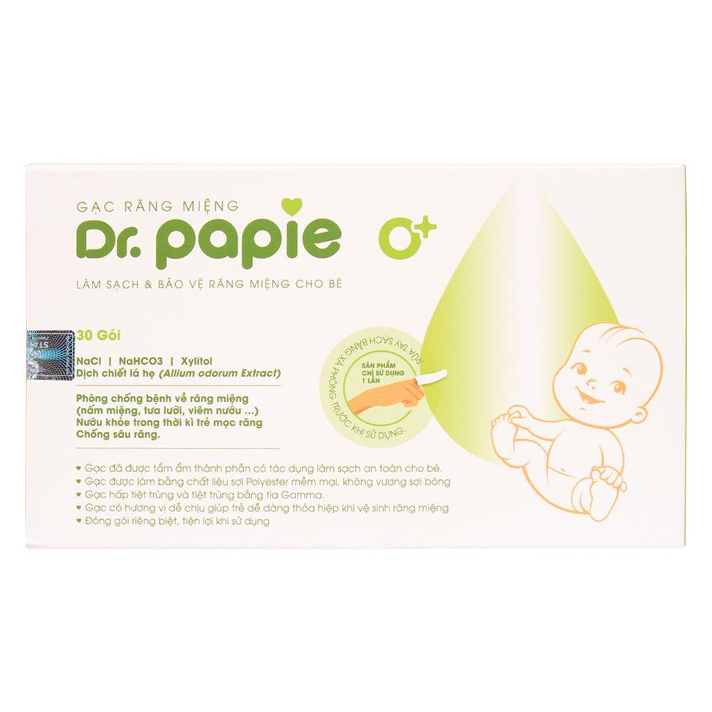 Gạc răng miệng Dr. Papie