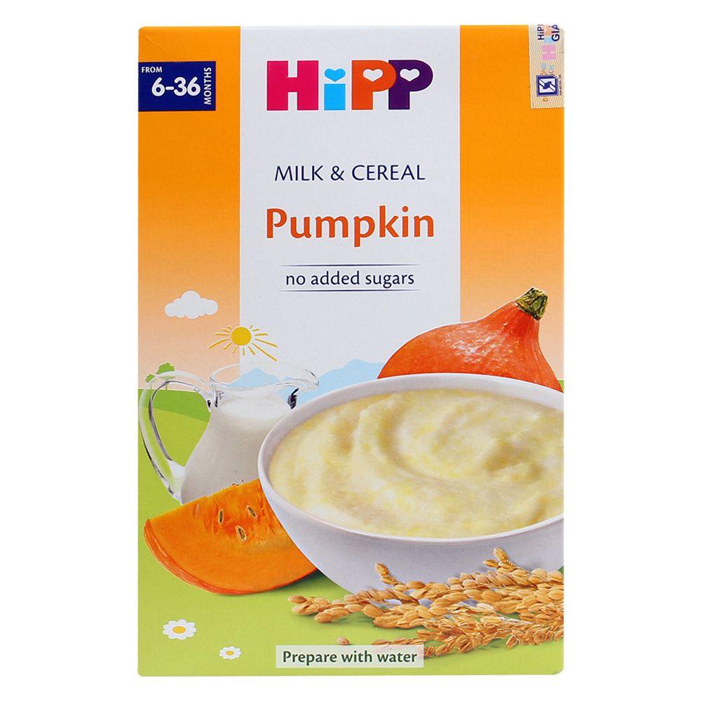 Bột ăn dặm HiPP sữa và bí đỏ 250g (6 - 36 tháng)