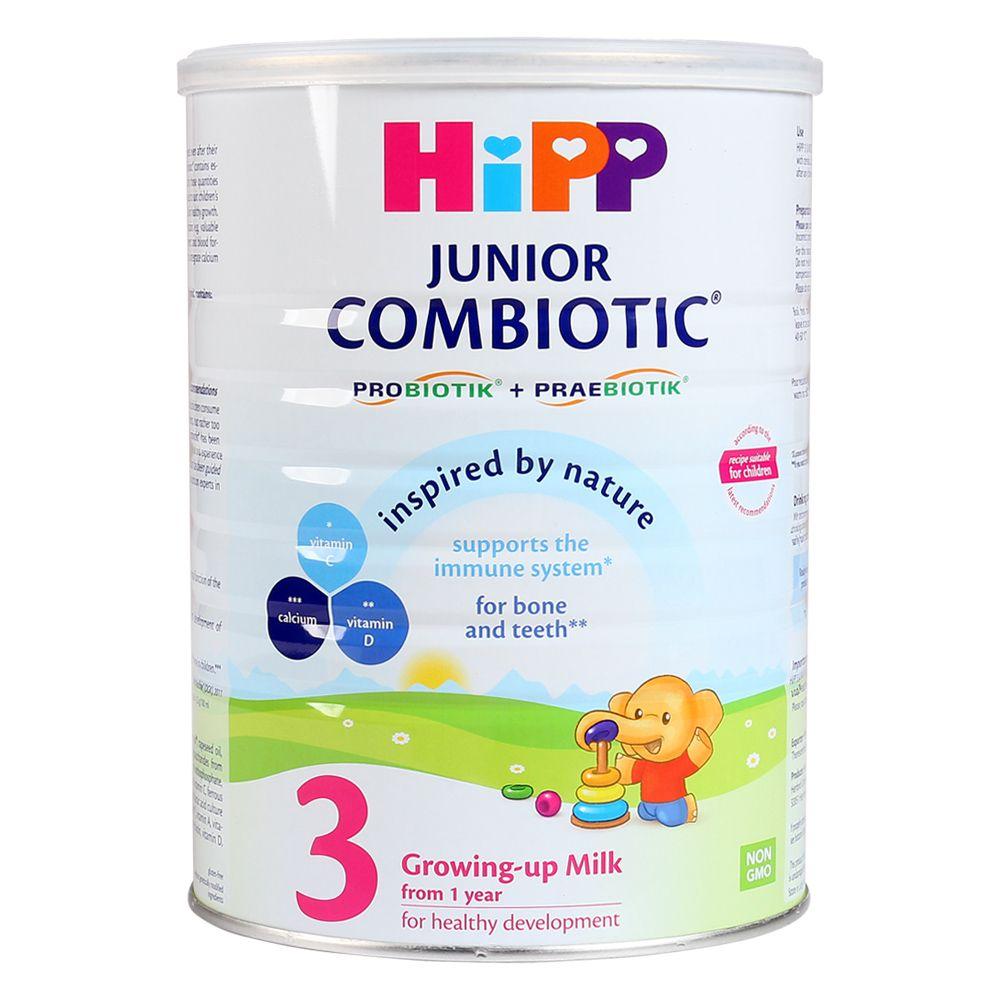 Sữa HiPP Combiotic Organic số 3 800g (Trên 1 tuổi)