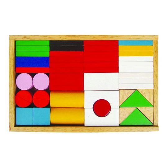 Đồ chơi xếp gỗ thông minh Winwin Toys - Bộ cờ quốc gia 68152