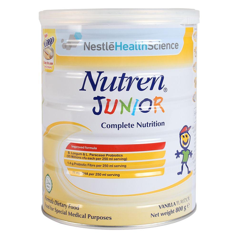 Sữa Nestlé Nutren Junior 800g (1 - 10 tuổi)