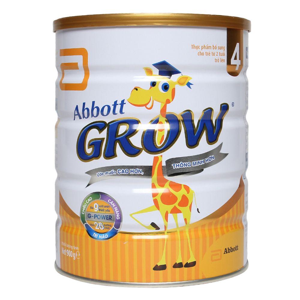 Sữa Abbott Grow 4 hương vani 900g (Trên 2 tuổi)
