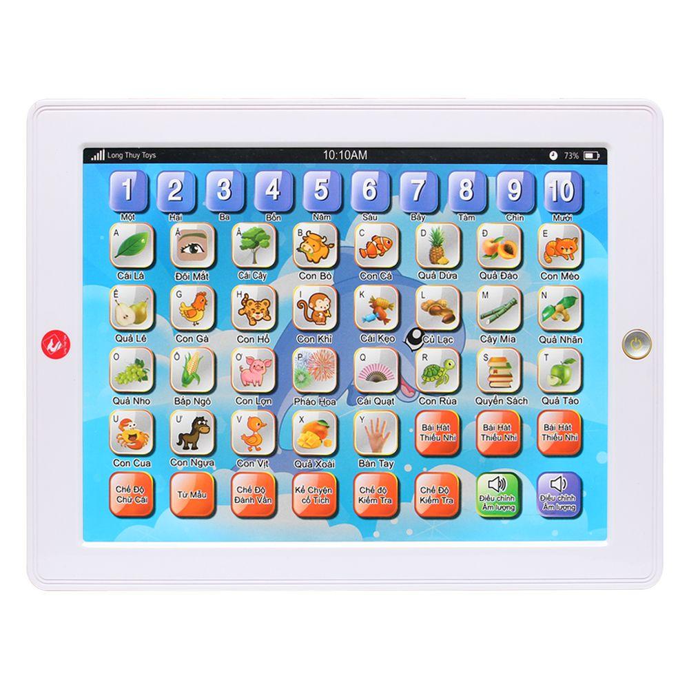 Đồ chơi Ipad dùng để học màu trắng LT68-2668