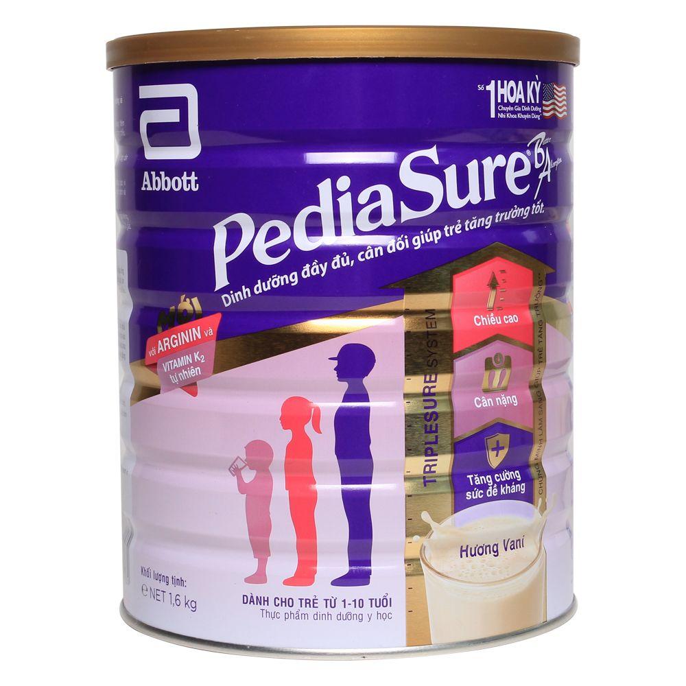 Sữa PediaSure BA 1.6 kg (1 - 10 tuổi)