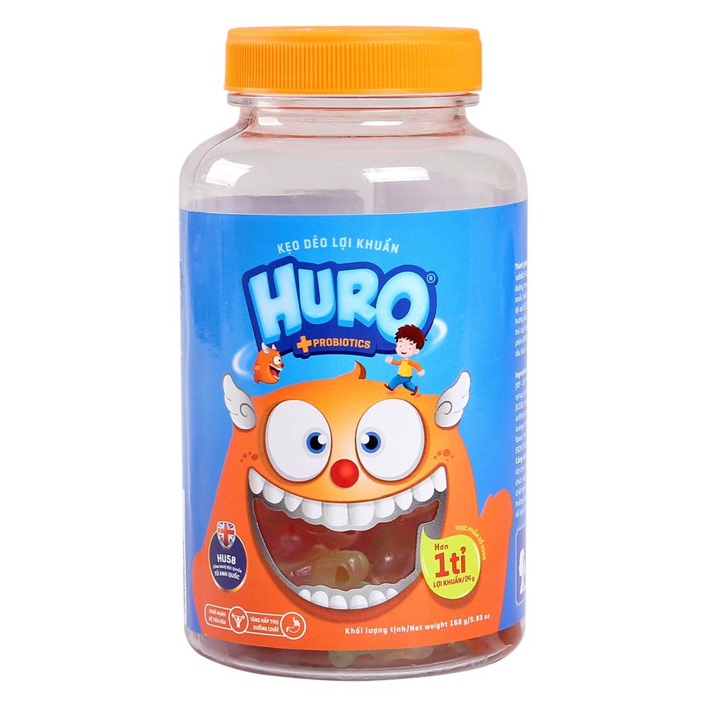Kẹo dẻo lợi khuẩn Huro 168g