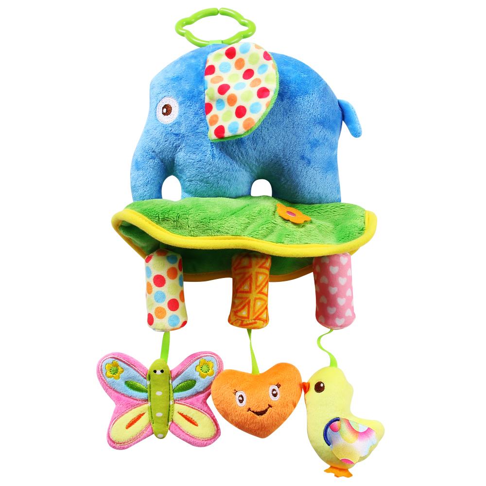 Đồ chơi treo nôi hình voi