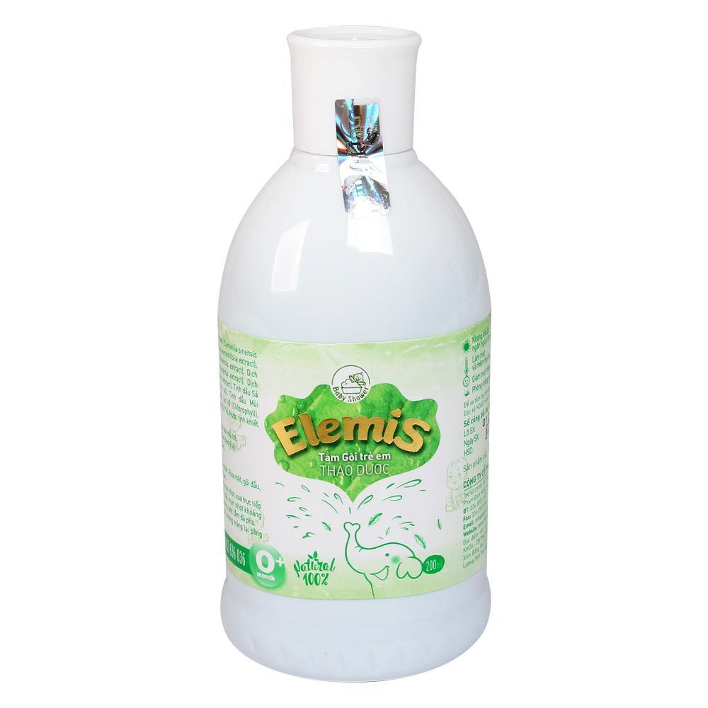 Nước tắm gội thảo dược Elemis 200ml