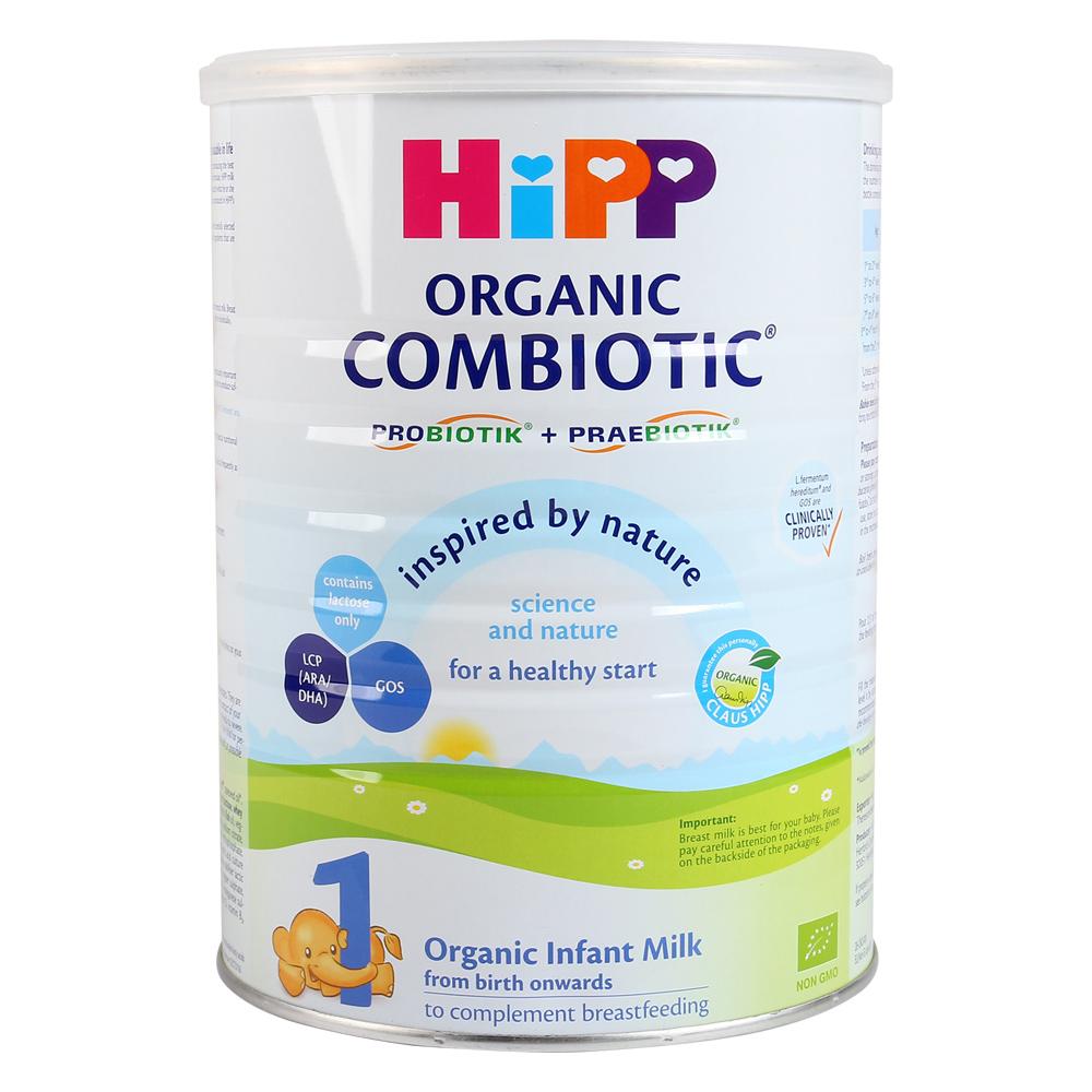Sữa HiPP Combiotic Organic số 1 800g (Từ sơ sinh)