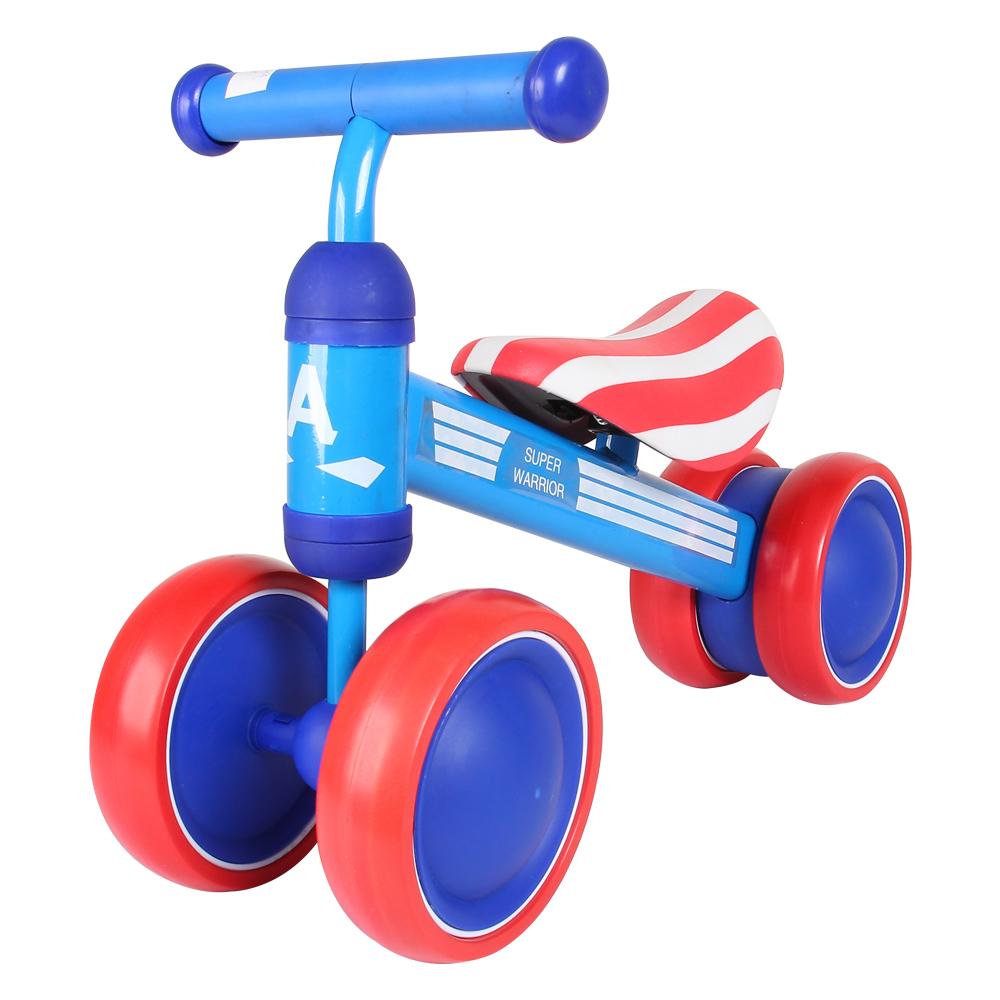Xe chòi chân cho bé by-10003 màu xanh