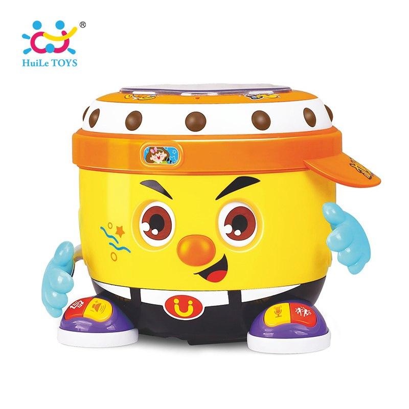 Đồ chơi trống phát nhạc thông minh Huile Toys 6107
