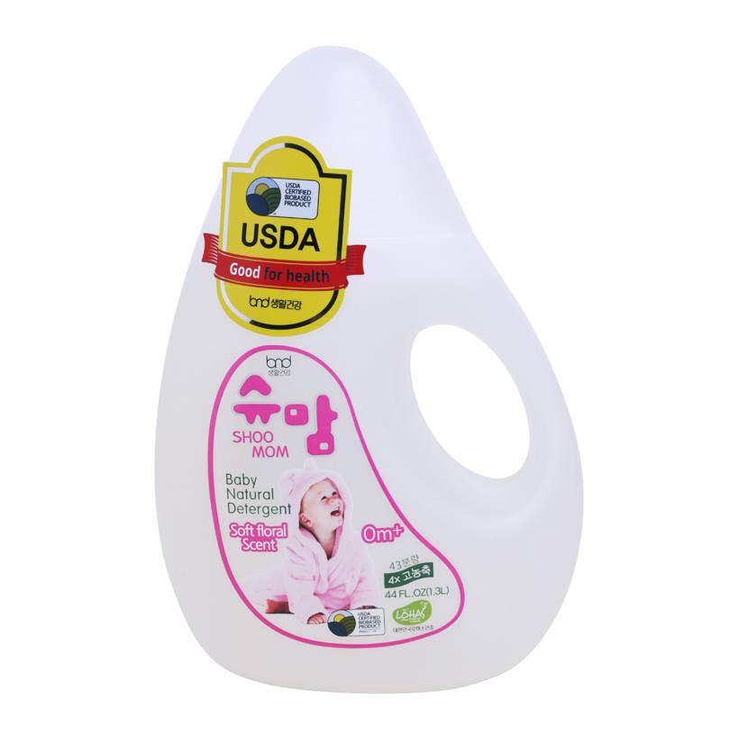 Nước giặt hữu cơ SHOOMOM hương hoa 1.3L