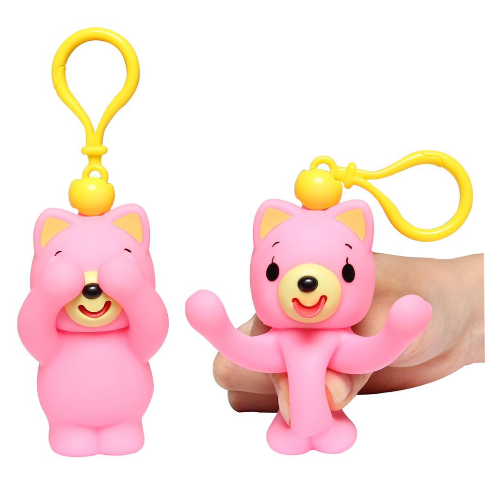 Đồ chơi bóp chíp ú òa Sankyo Toys hình mèo