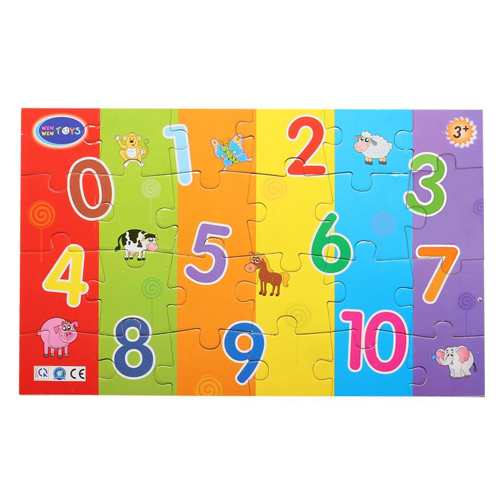 Bảng gỗ bé vui học số Winwin Toys 67442