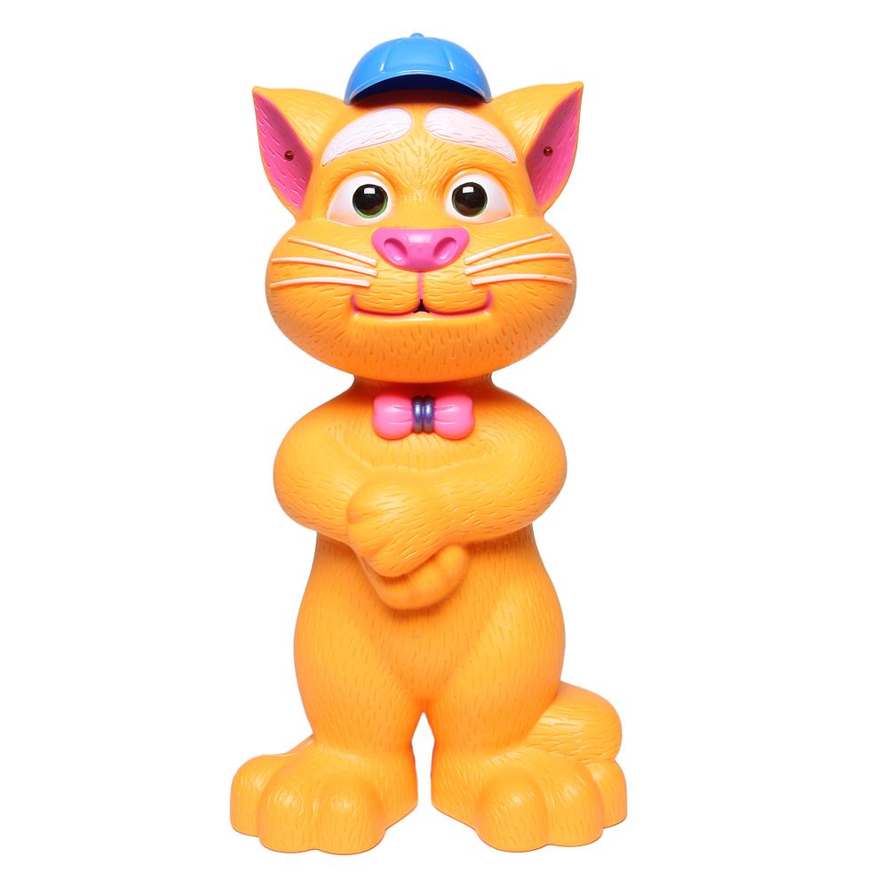 Đồ chơi chú mèo đội mũ cảm ứng kể chuyện màu cam LT268-499