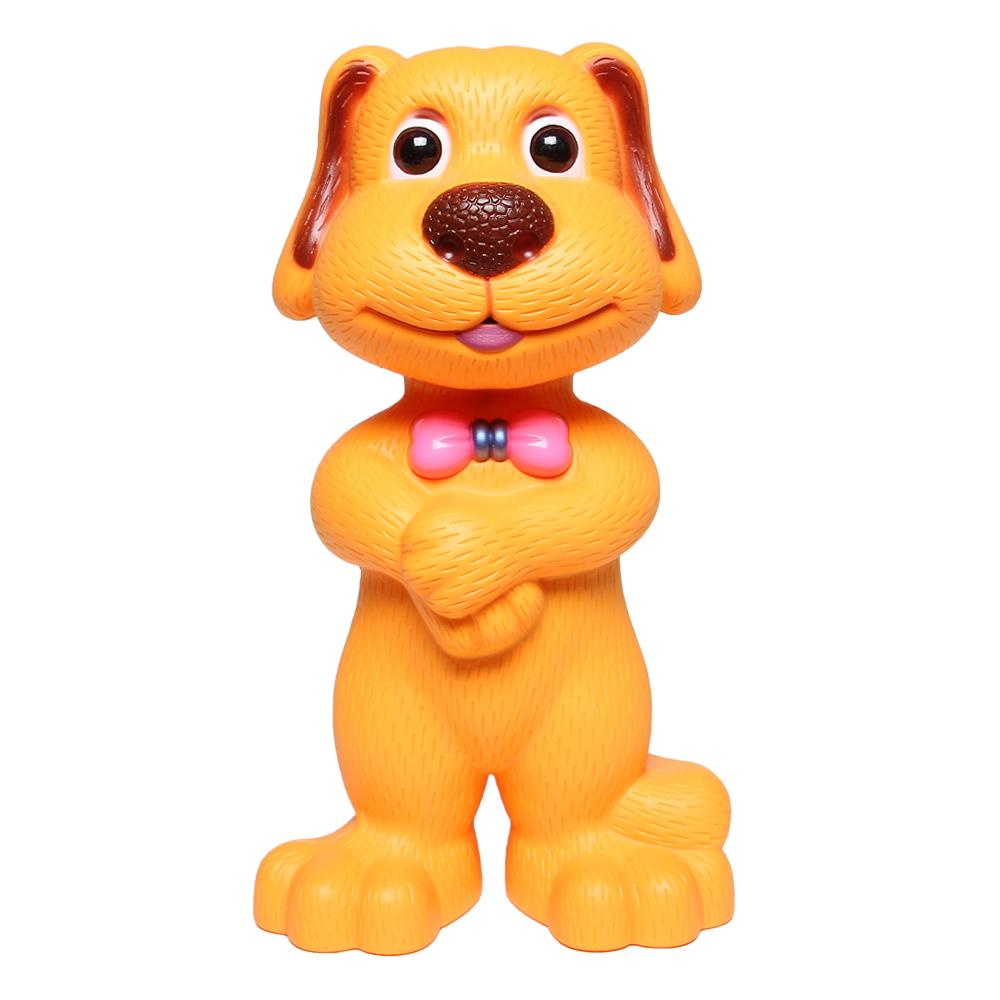 Đồ chơi chú chó cảm ứng kể chuyện màu cam LT268-889