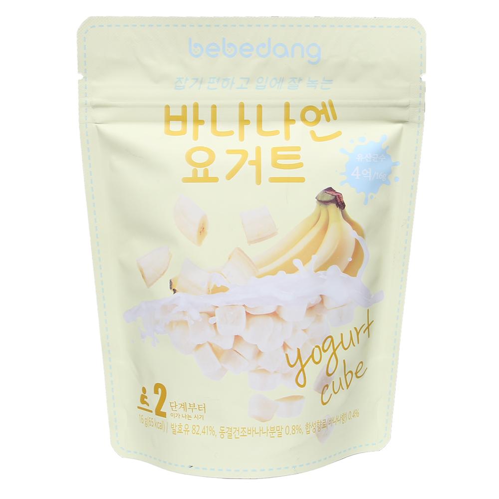 Sữa chua khô Bebedang vị chuối 16g