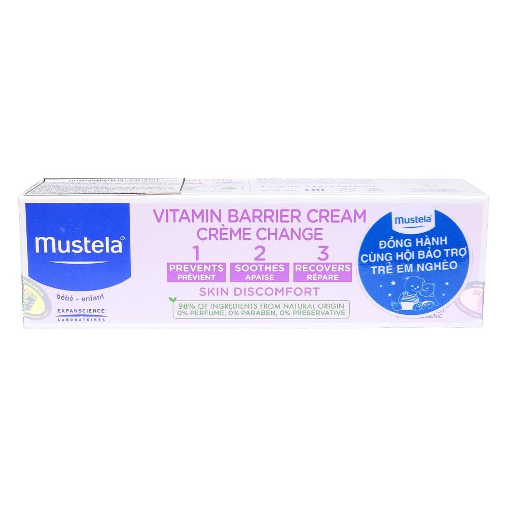 Kem hỗ trợ điều trị và ngừa hăm tã Mustela 50ml