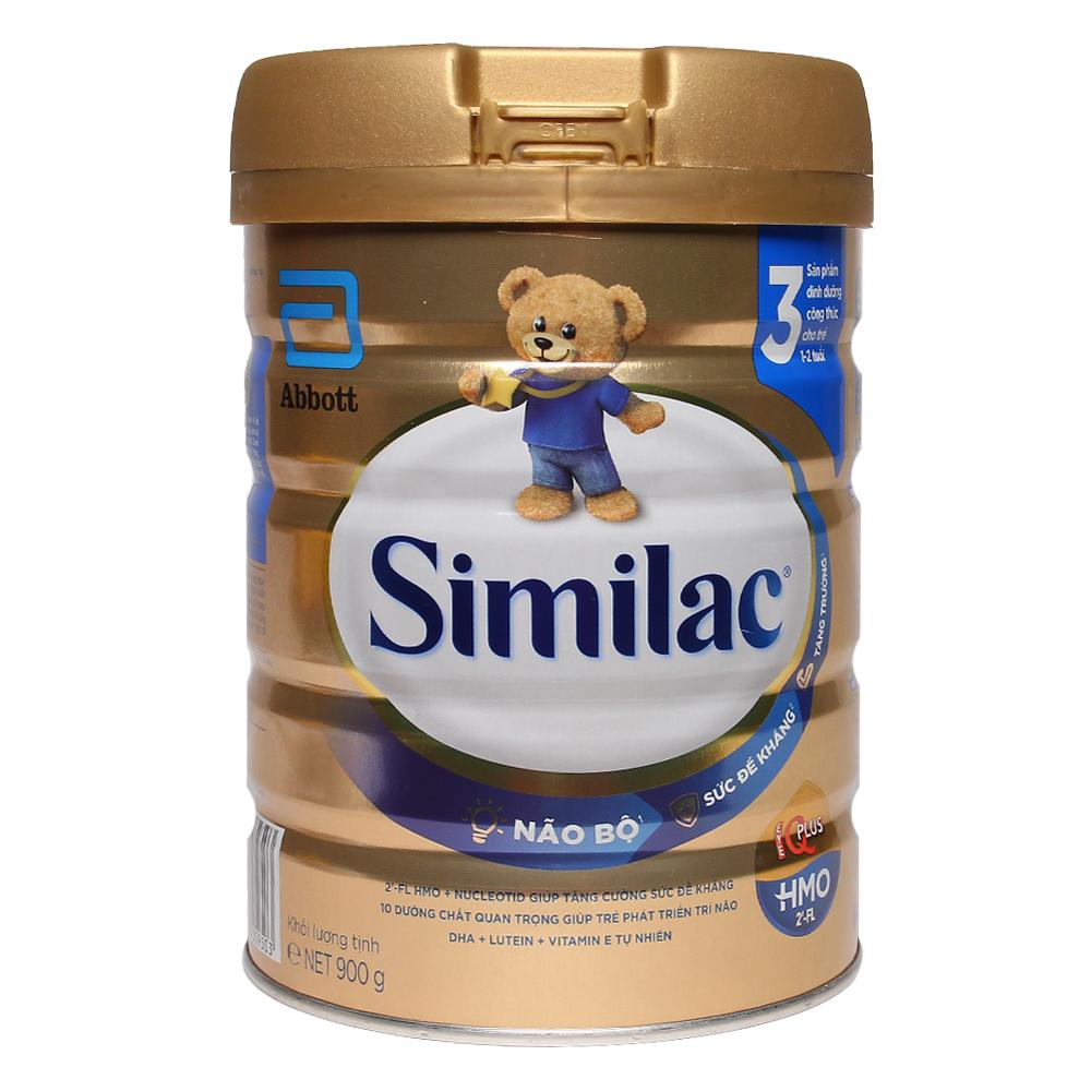 Sữa Similac HMO IQ Plus số 3 hương vani 900g (1 - 2 tuổi)