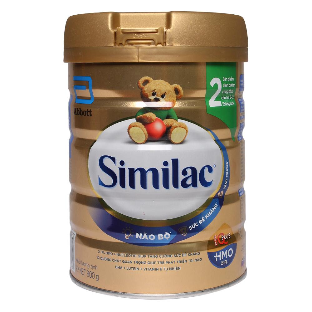 Sữa Similac HMO IQ Plus số 2 hương vani 900g (6 - 12 tháng)