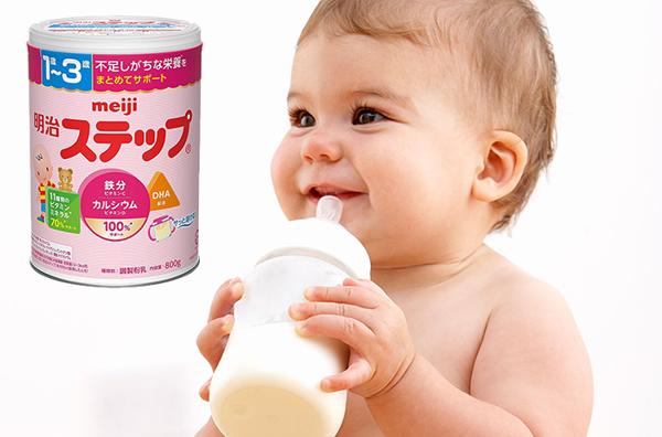 Sữa Meiji nhập khẩu cho bé chính hãng giá tốt 2021