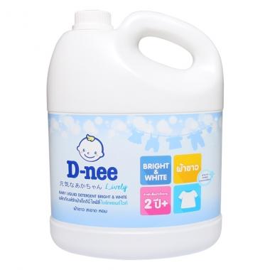 Nước giặt xả Dnee trắng 3L