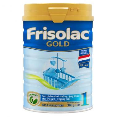 Sữa bột Frisolac Gold 1 380g