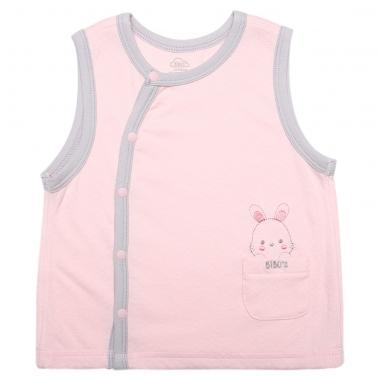 Áo gile cài lệch bé gái Bibo's CNA T310133 hồng
