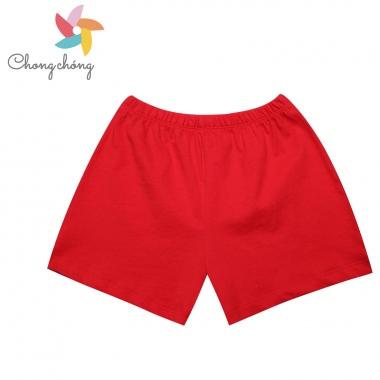 Quần đùi bồng bé gái Chong Chóng CM30 đỏ