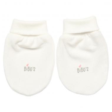 Bao tay sơ sinh Bibo's Petit LV260 trắng