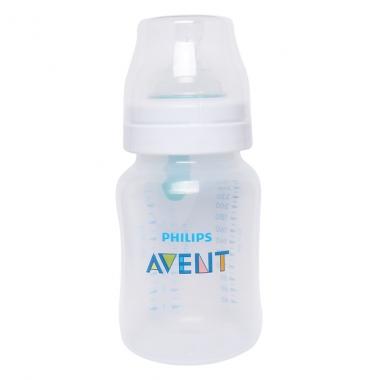 Bình sữa Philips Avent nhựa PP có van giữ sữa 260ml 813.14