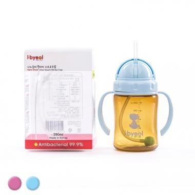 Bình uống nước I-Byeol Nano Silver 280ml (Trên 6 tháng)