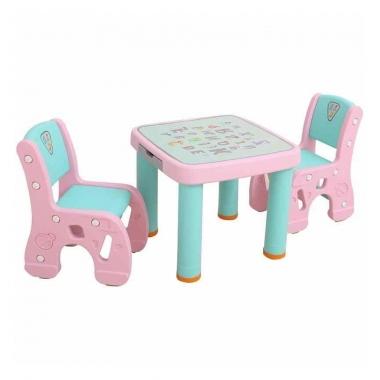 Bàn ghế tập vẽ cho bé Toys House TH-BG