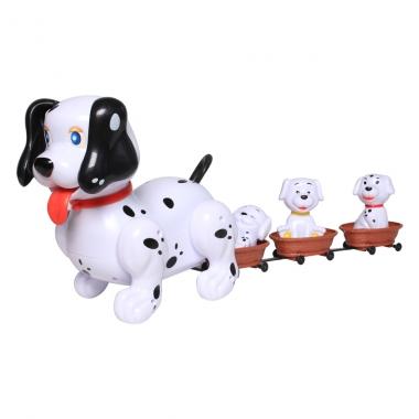 Bộ đồ chơi gia đình chó đốm 6801