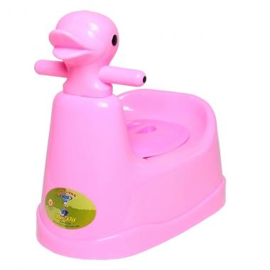 Bô vệ sinh cho bé Song Long hình con vịt