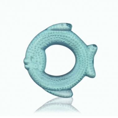 Gặm nướu mềm Kidsme có nước hình cá xanh 9020S