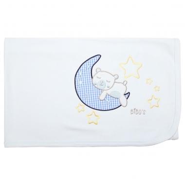 Chăn cotton Bibo's HMT431 gấu xanh