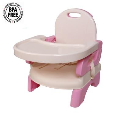 Ghế ăn Mastela 07331 màu hồng
