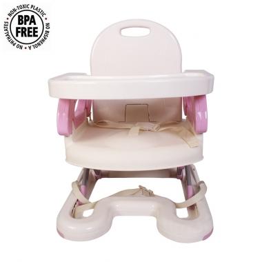 Ghế ăn Mastela màu hồng 07112