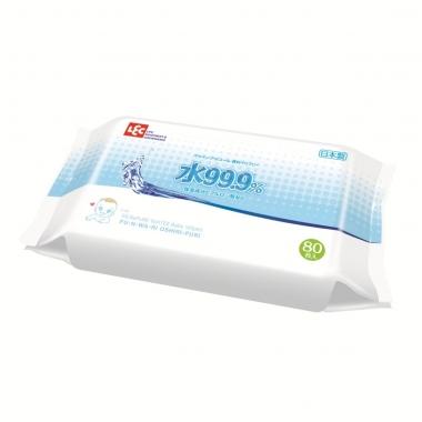 Giấy ướt Lec nước tinh khiết 99,9% E161 80 tờ
