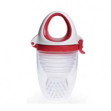 Túi nhai chống hóc Kidsme Plus size XL màu đỏ 160361 (Trên 6 tháng tuổi)