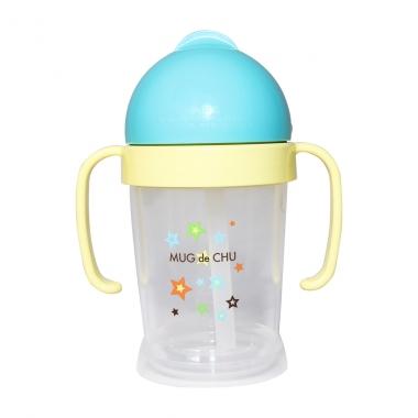 Bình uống nước Kore màu xanh 200ml (Trên 8 tháng)