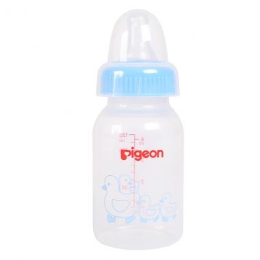 Bình sữa Pigeon nhựa PP vịt xanh 120ml