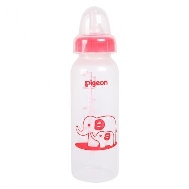 Bình sữa Pigeon nhựa PP voi đỏ 240ml