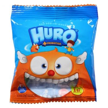 Kẹo dẻo lợi khuẩn Huro 24g