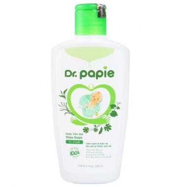 Nước tắm gội thảo dược Dr. Papie 230ml