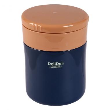 Bình ủ cháo kèm thìa Pearl Lilfe màu xanh 400ml