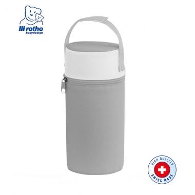 Túi giữ nhiệt du lịch Rotho Babydesign Silver Gray