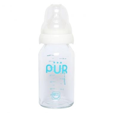 Bình sữa thủy tinh Pur 130ml PUR1202