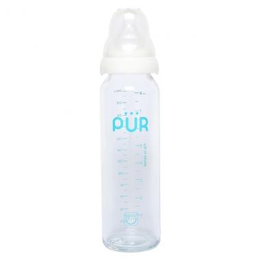 Bình sữa thủy tinh Pur 240ml PUR1203